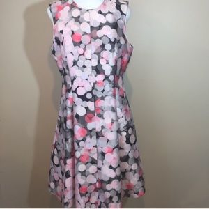 Kate Spade Fit and Flare Dress Sz 14